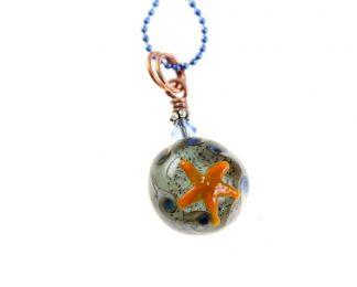 Tide Pool Ocean Necklace by Janet Crosby