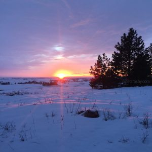 January Sunset - janetcrosby.com