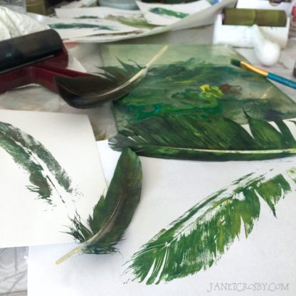 Feather Printing