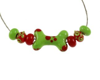 Fiesta Dog Bone Set by Janet Crosby