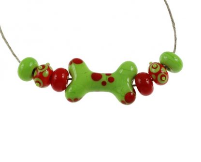 Fiesta Dog Bone Set by Janet Crosby