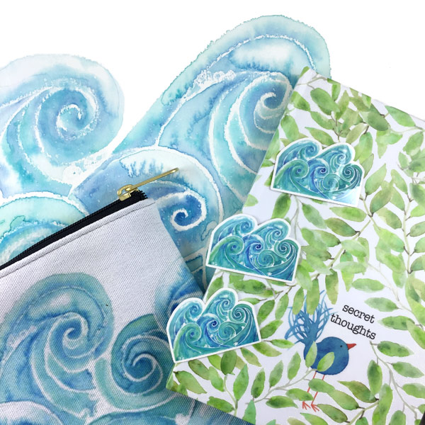Watercolor Goodies by Janet Crosby